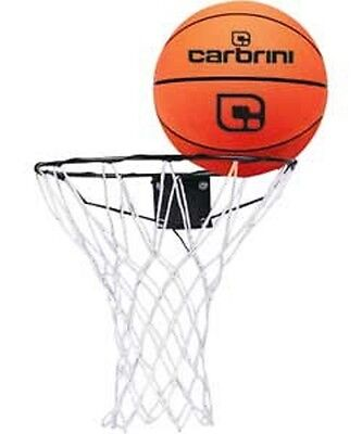Complete Basketball Set - Basketball Ring Net, Ball & Wall fixings Included