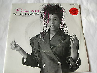 "Princess - Tell Me Tomorrow - Supreme Records 7"" Ltd Pink Vinyl"