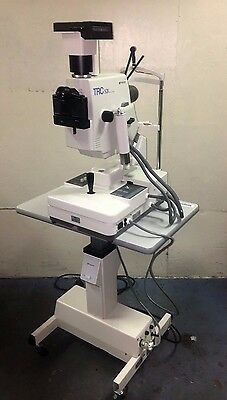 TopCon TRC-50X Retinal Fundus Camera w/ Polaroid Attachment & Mobile Cart