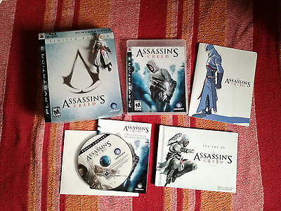 Assassin's Creed Limited Edition (versione americana), completa, PS3 + artbook