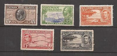 Cayman Islands -  Oldies  .- Lot Of Old Stamps