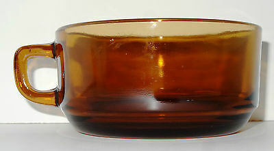 Anchor Hocking Fire King Amber Cup Mug
