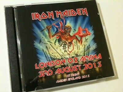 Iron Maiden Double CD London O2 Arena 1st Night Maiden England Tour 2013