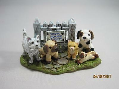 Wee Forest Folk Ltd Ed Beary Cute Bears 2013 Woods Humane Society - WFF Box