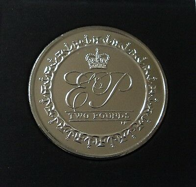 2011 British Indian Ocean Territory Lifetime of Service 90th Birthday Crown Coin