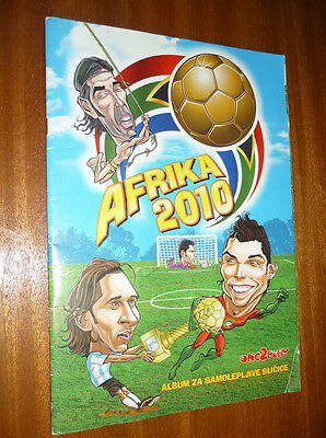 Fifa Africa World Cup 2010 Caricatures Complete Stickers Album Not Panini