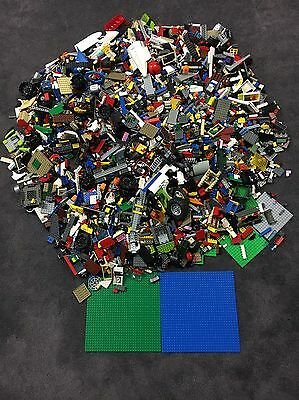 Huge 32 Pound Lbs LEGO Lot of Bricks Blocks Baseplates Vehicles & Other Pieces