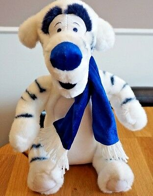 Disney Store Large Winter Tigger Soft Toy Plush - Winnie The Pooh