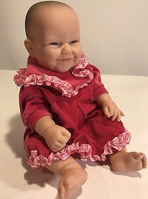 Realistic Berenguer Baby Doll 16 Inches, Euc, Play Or Reborn
