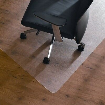 Heavy Duty Chair mat 120 x 75cm Rectangular Polycarbonate to Protect Hard Floors