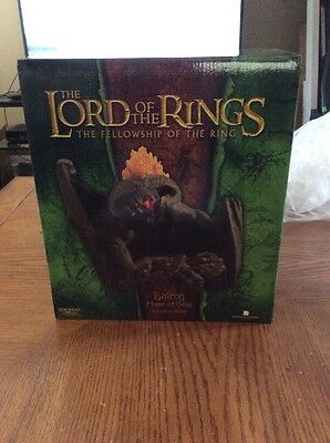 Balrog Flame of Udun statue Lord of the Rings by Sideshow WETA New
