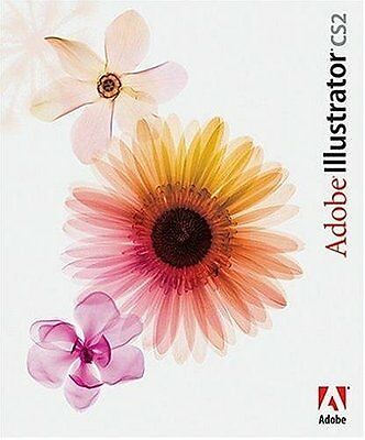 Adobe Illustrator CS2 Windows deutsch Vollversion MWST Retail BOX KARTON