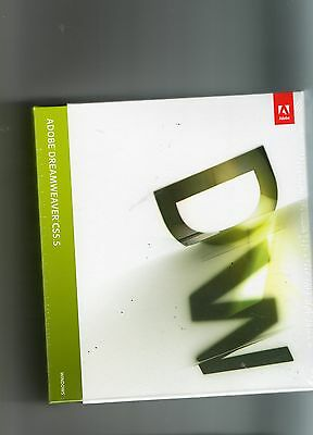 ADOBE Dreamweaver CS5.5 Windows deutsch Vollversion Mwst Retail BOX NEU