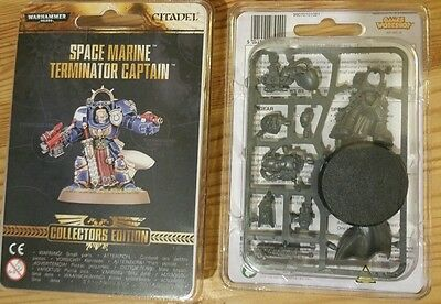 Space Marine Terminator Captain Collectors Edition