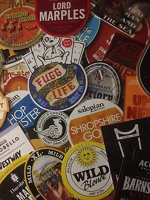 **60 Plus** Real Ale / Beer Pump Clips - assorted breweries