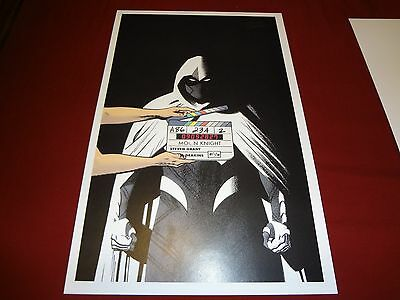 Moonknight #6 Art print signed by Greg Smallwood