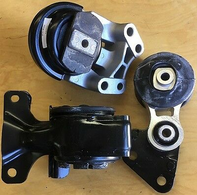 3pcSet fits 2007 2008 2009 2010 Ford Edge Lincoln MKX Engine Transmission Mounts
