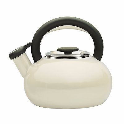 Prestige 46246 Enamel Finish Whistling 1.4L Stove Top Kettle Brand New