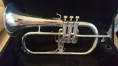 Beautiful B&S 3146/2-S Brochon Model Flugelhorn