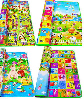 Mat Padded Waterproof Huge Baby Kids Play Creeping Soft Activity Foam Two-sided