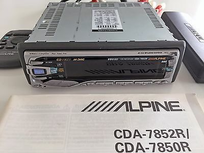 ALPINE CDA-7852R Car Audio
