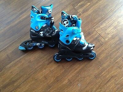No Fear Roller Skates Size 1-4