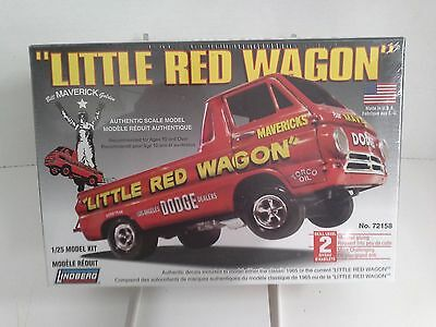 Lindberg Dodge 'Little Red Wagon' Truck 1:25 Scale - SEALED