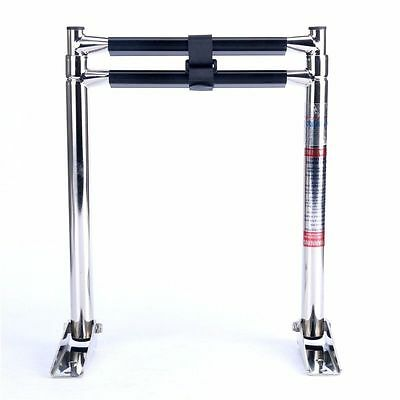 2 Step Stainless Steel Telescoping Boat Ladder Swim Step AU FAST SHIP AM
