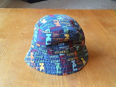 Girls/boys Summer Bucket Hat - Size Toddler 1-3 Years Old - Euc - Beach
