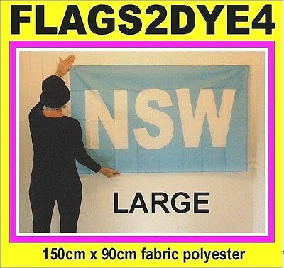 NSW flag New South Wales flag blues flag Australian state of origin rugby league