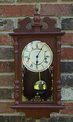 HERMLE WALL CLOCK  Westminster chime. See video