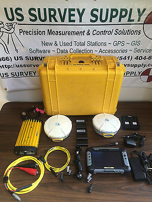 Trimble RTK GPS System - R8 Rover 5800 Base w/ Trimmark 3, Yuma Tablet & Access