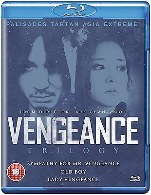 Vengeance Trilogy Boxset: New Blu-Ray