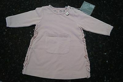 Eeni meeni miini moh baby dress pink size 0-3 months 000 brand new with tags