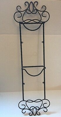 Southern Living At Home Harrison Plate Rack Braided Wrought Iron