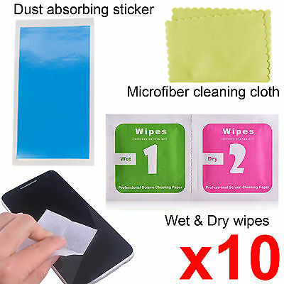 Camera lens optical screen protector cleaning cleaner wet dry wipes cloth dust