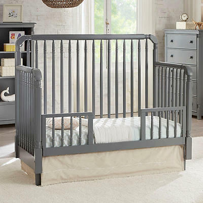 Eco Chic Baby Kennedy Toddler Guard Rail - Twilight Gray