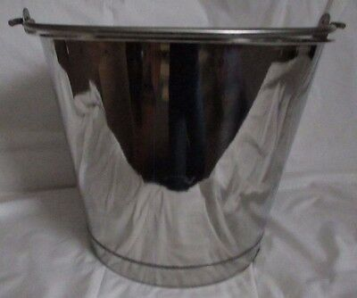 Duro-Tex Stainless Steel Ware 5 Gallon Bucket/MilkPail Type 316 Reading, Pa
