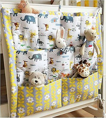 FS Baby Crib Nursery Diaper Bag Storage Stacker Hanging Organizer With 9 Pockets