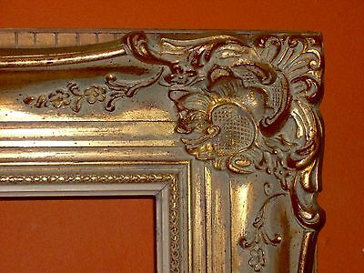UNIQUE LARGE VINTAGE Baroque GOLD Ornate BELGIUM FRAME for Antique Painting /Pic