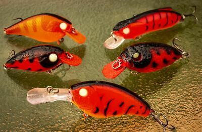 10 Lures. Yellowbelly. Barra. Redfin. Bream. Trout. Cod. Flathead. Bass. Salmon