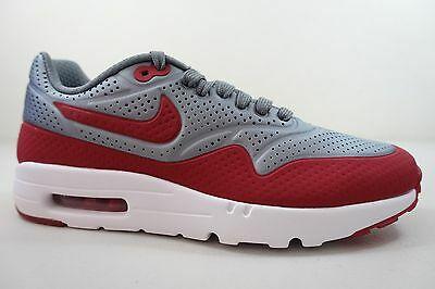 half off c782b e1bd0 MEN S NIKE AIR MAX 1 ULTRA MOIRE SHOES SIZE 7 grey red white 705297 006