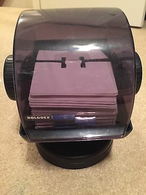 Vintage Rolodex NSW-24C - Clean Cards & Great Condition