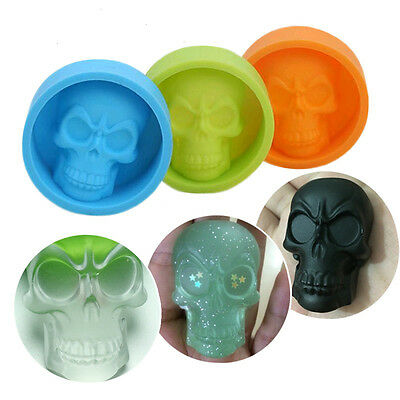 Fashion Silicone Cake Decorating Mold Halloween Ghost Skull Muffin Pudding Mould