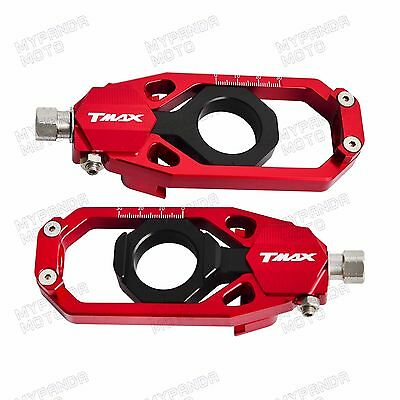 Fit Yamaha Tmax 530 2012 2013 2014 2015 2016 Axle Block Chain Adjuster Tensioner