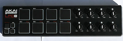 Akai LPD8 Portable Pad Drum Controller with 8 Pads