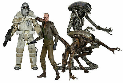 "ALIENS - 7"" Scale Series 8 Action Figure Set (4) by NECA #NEW"