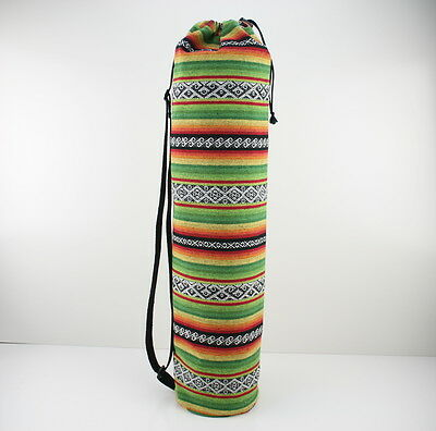 Handmade Colourful Yoga/Pilates Mat Bag with Adjustable Carry Strap Fits Mat 6mm
