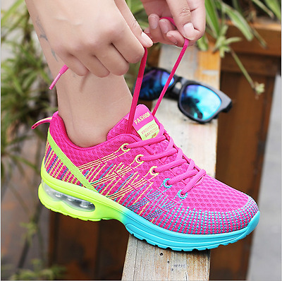 Sneakers Women Fashion Breathable Light Casual Outdoor Running Air cushion Shoes