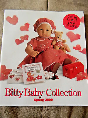 Doll catalog American Girl Bitty Baby year 2000